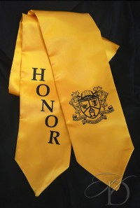 Honor Stole with Christian Education Crest